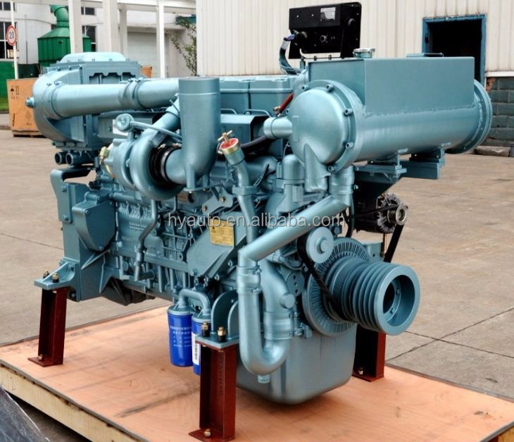 SINOTRUK(CNHTC) STEYR D12 series diesel marine engine, boat engine, ship engine