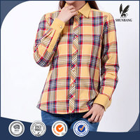 Cheap China bulk wholesale clothing petite plaid shirt women formal wear