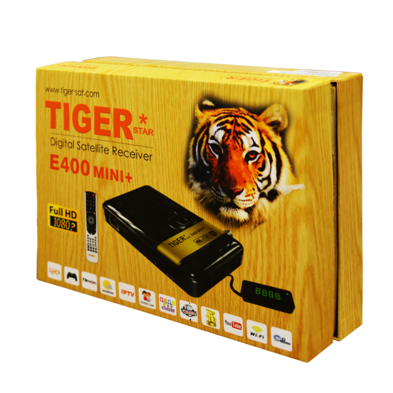 Tiger Hd <strong>Satellite</strong> ReceiverE400MINi+Iptv Set Top Box With Internet Connection