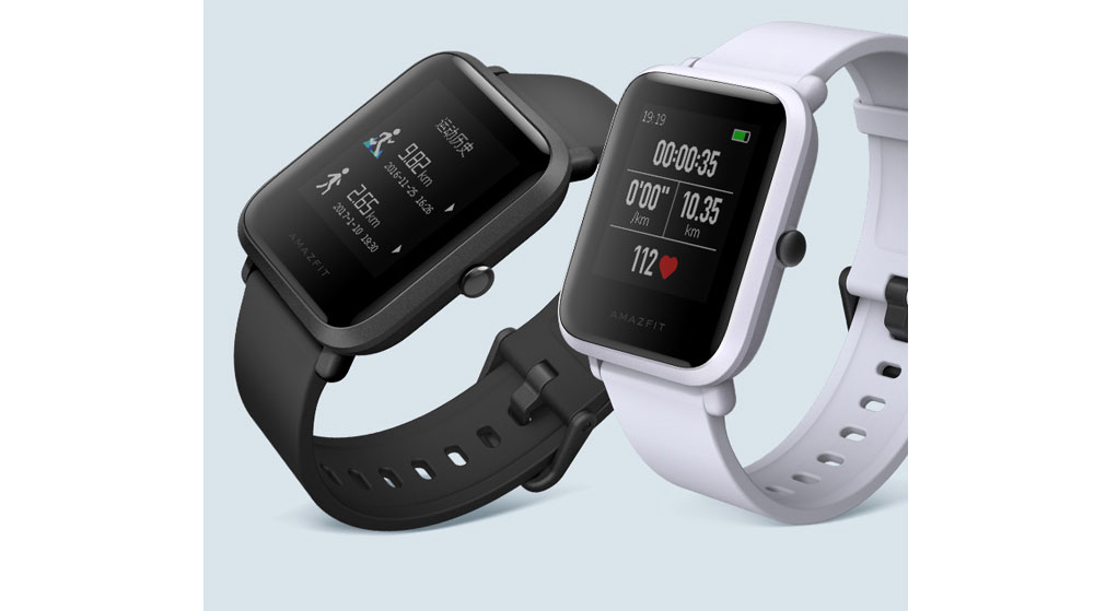 Xiaomi Amazfit Bip Huami Mi English Version Smart Watch Pace Lite IP68 GPS Gloness Smartwatch Heart Rate 45 Days Standby