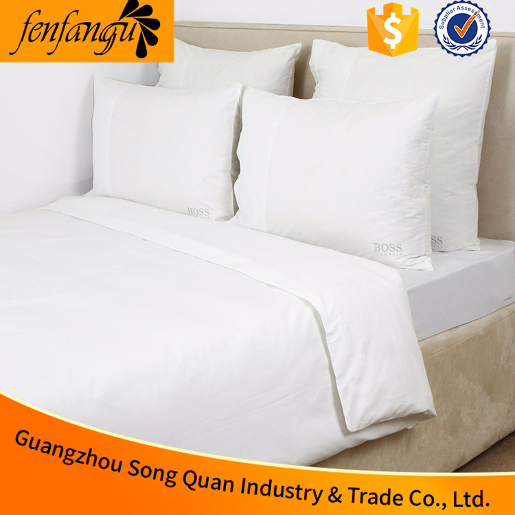 Soft 100% cotton single/twin/full/queen/king size 4pcs bedding set for home,hotel and hospital