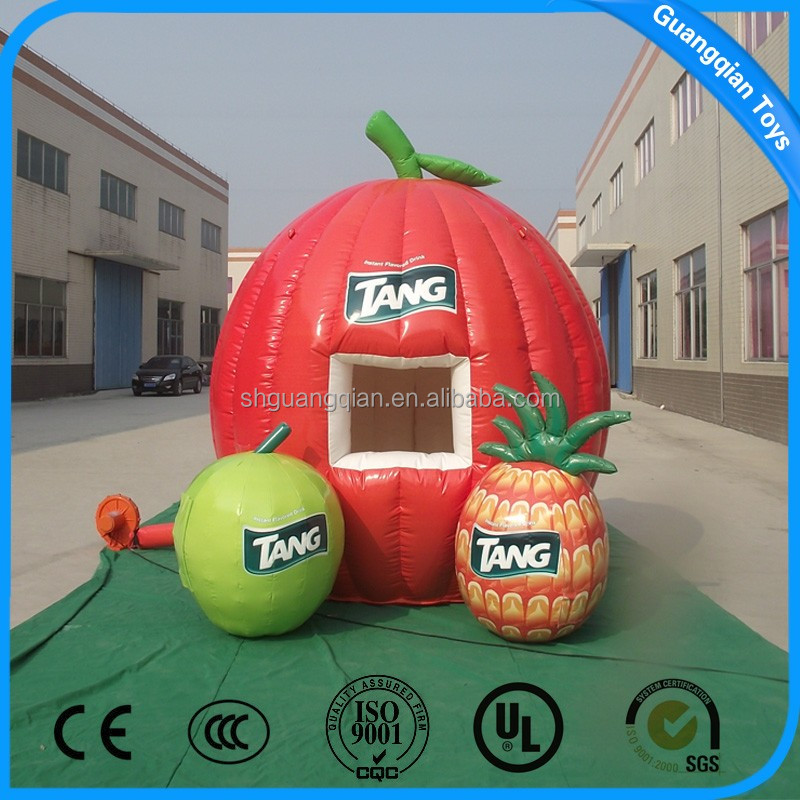 Guangqian 2016 Hot Advertising Inflatable Fruit Cartoon,Outdoor Inflatable Model For Sale