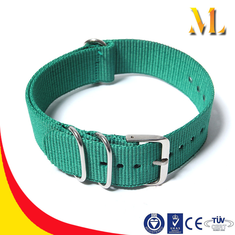 Fashion style colorful fabric Nylon watch strap