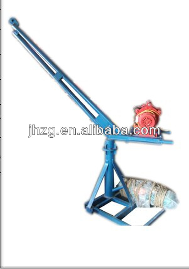 Mini construction lift floor cranes small electric crane