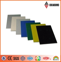 IDEABOND High quality construction material PVDF nano curtain wall aluminium composite panel from alibaba com