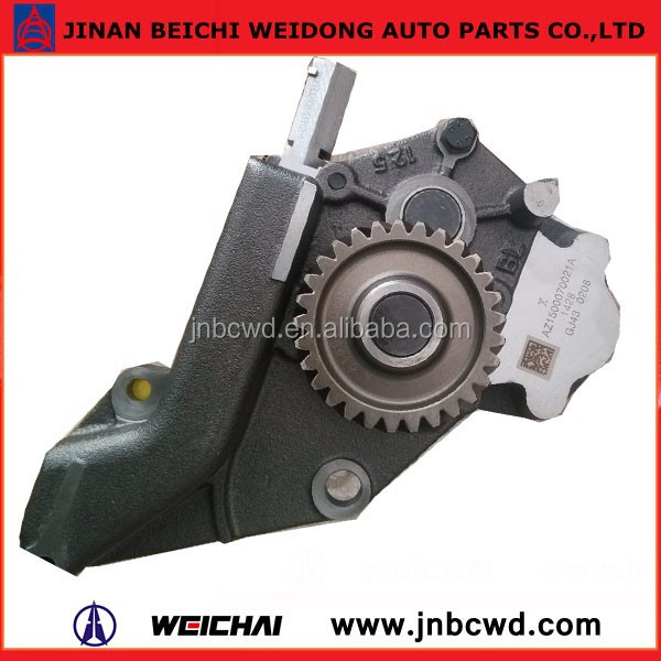 Weichai engine parts lubrication system oil pump widen oil pump