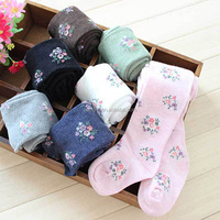 Wholesale Fashion Girls Leggings Floral Dots Cotton Infant Pants For Kids Weaer SC40826-41