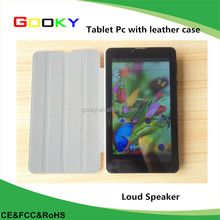 2015 new model big speaker 3G tablet with calling and bluetooth capacitive multi-touching screen