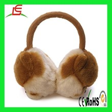 Wholesale animal plush dog winter warm earmuff