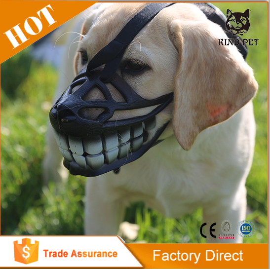 Customized service great comfort dog muzzle for protection