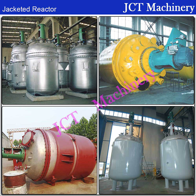 Stainless Steel Batch Chemical Reactor Reaction Vessel Tank