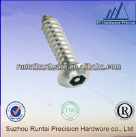 self tapping screw for aluminum socket head cap screw with washer, made in china