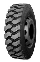 Agressive M91 all steel radial truck tyre used in mine road
