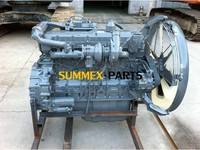 Retread 6HK1X Engine Assy 6HK1 Disel Engine with Intercooler and Turbocharger