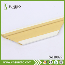 Interior Pvc wpc wall ceiling molding Decorative Crown Trim Mouldings For wall