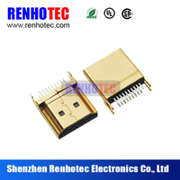 Renhotec SMT 19P mini HDMI MALE connector FOR PCB