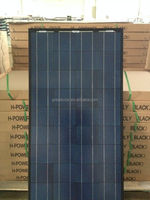 High efficiency black solar pv modules!150W poly crystalline solar panel mainly send to Australia,Mexico,Russia,Dubai etc...