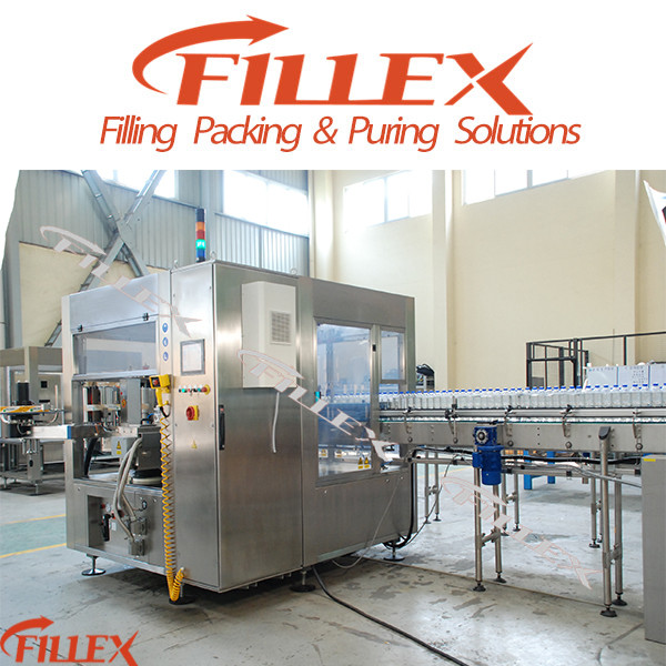 Plastic Bottle Hot Melt Glue Labeling Machine by Factory Supplier