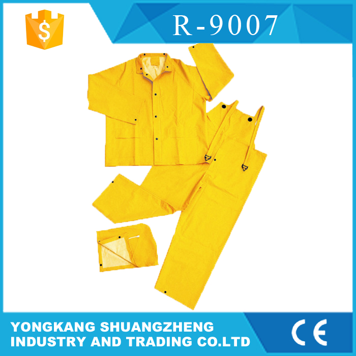 0.18mm polyester coated pvc cp company jacket
