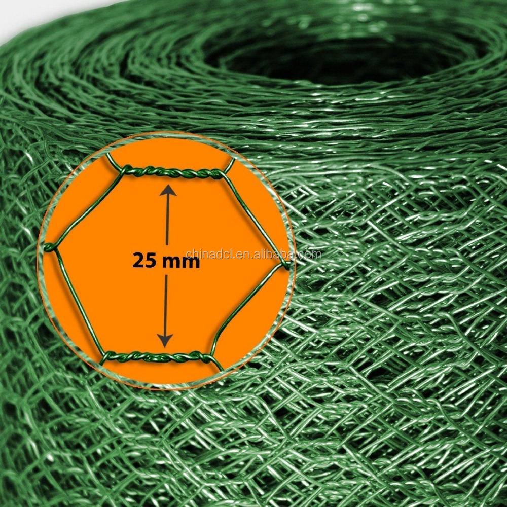 5 Foot X 50 Foot 2 Inch Mesh Poultry Netting/Chook Fence Wire