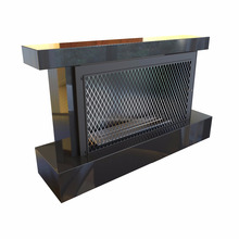 1500mm Remoted Controlled Real Fire Electric Freestanding Fireplace