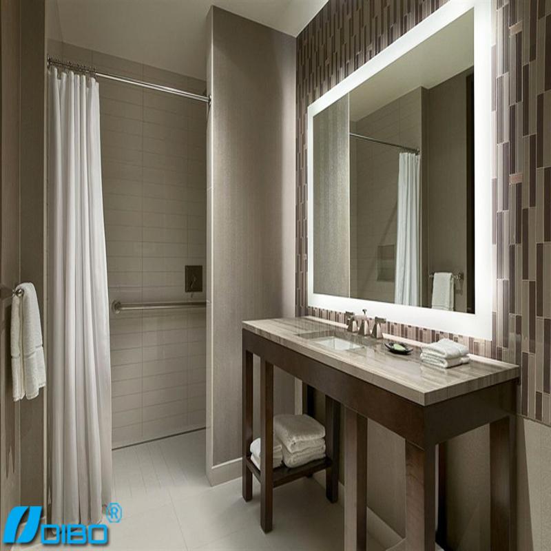 Salle de bains moderne led miroir lumineux r tro clair for Miroir fenetre casa