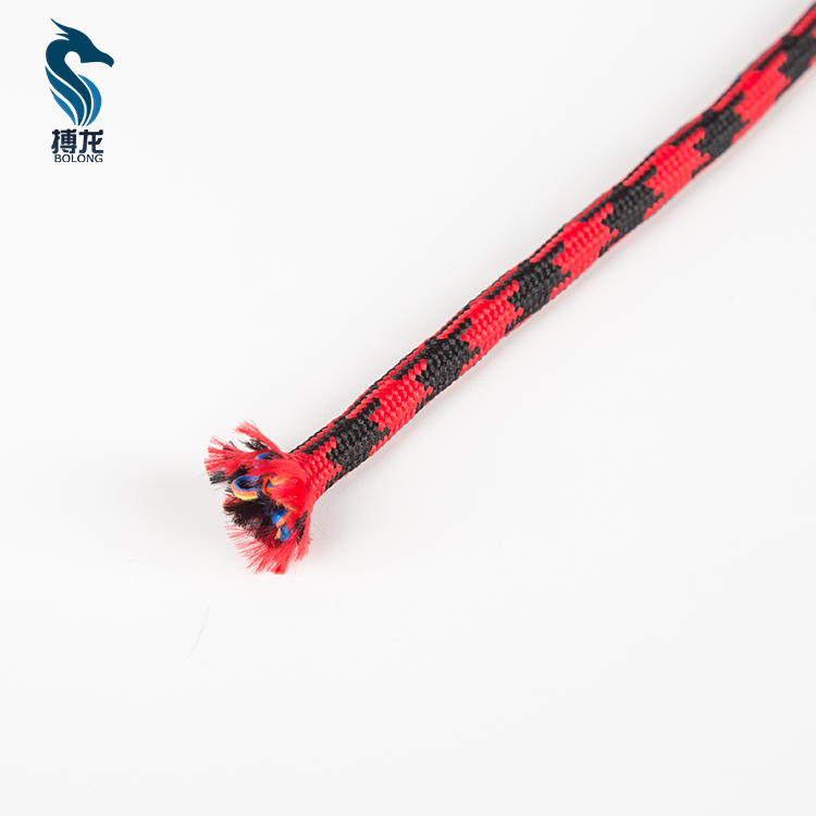 BL-ZAD816 Customized Colored Polyester Round Drawcord For Hoodie Or Shoelace