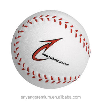 New Arrival Cheap High Quality Cute Anti Stress Baseball PU Stress Ball