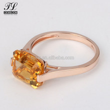 Topaz high end 1 gram gold rings design for women with price