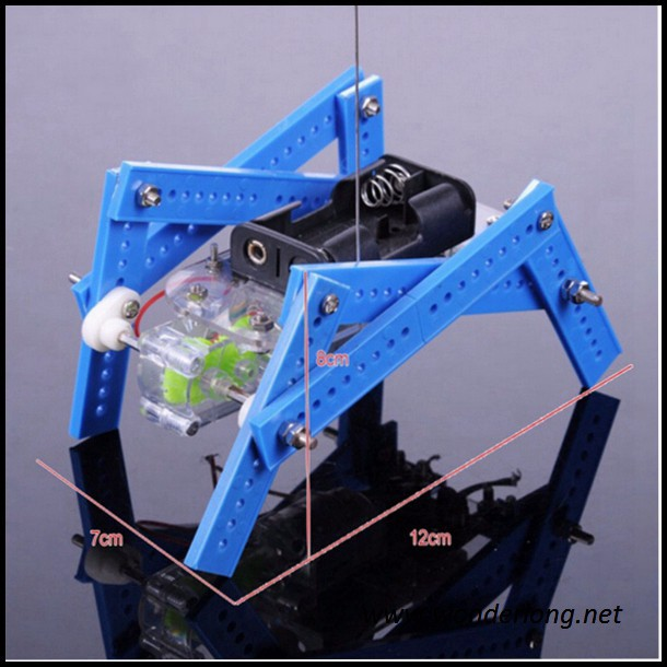 Quadruped robot DIY technology to create Bionic assembling toys Educational normal version