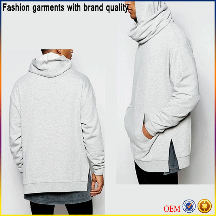 Alibaba fashion men` s clothing hoodies men oversized hoodie with extreme funnel