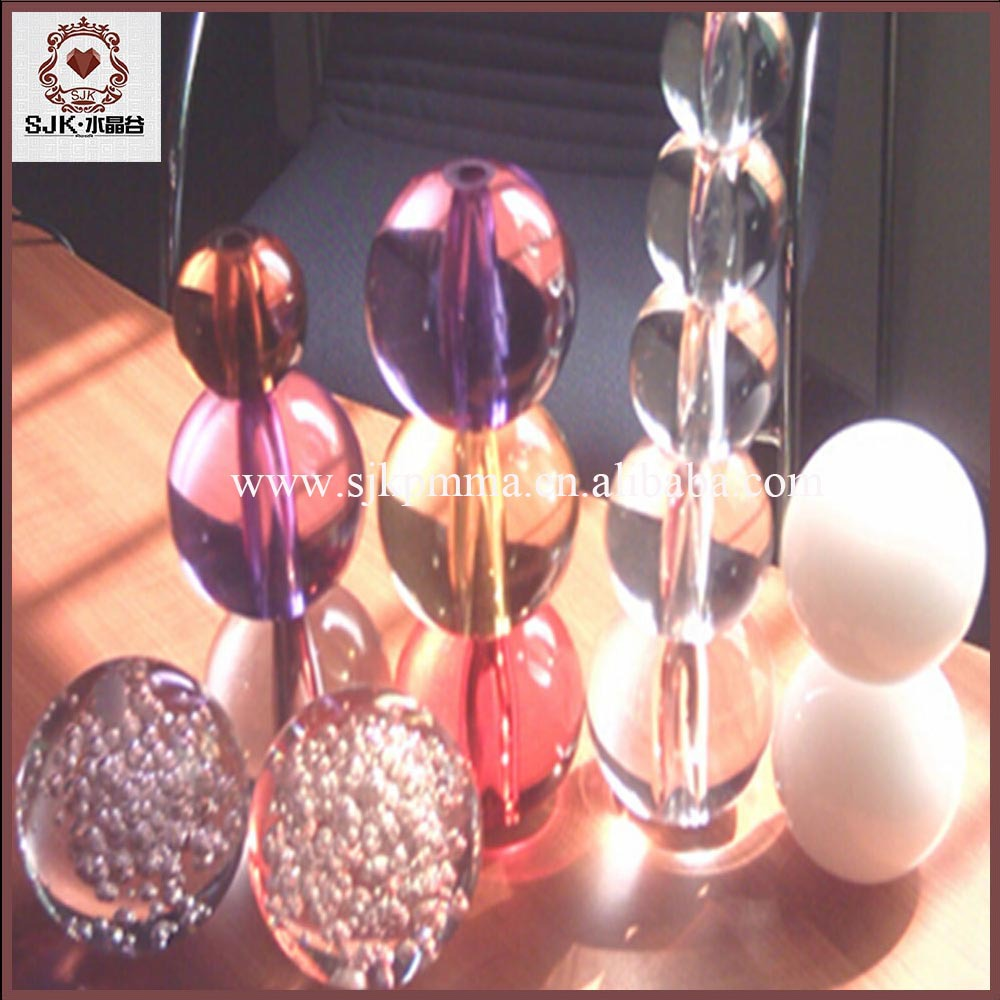Factory Pirce Clear Hollow Plastic Sphere, Clear Acrylic Ball