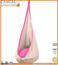 Child Pod Swing Chair Nook Tent Cotton Hanging Nest for Kids Hammock Pod Kids Swing