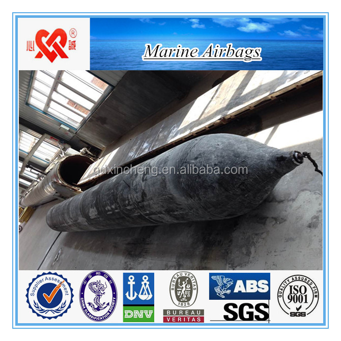 Salvage Sunken Equipment/Ship Launching Marine Airbag With ISO14409 Attestation