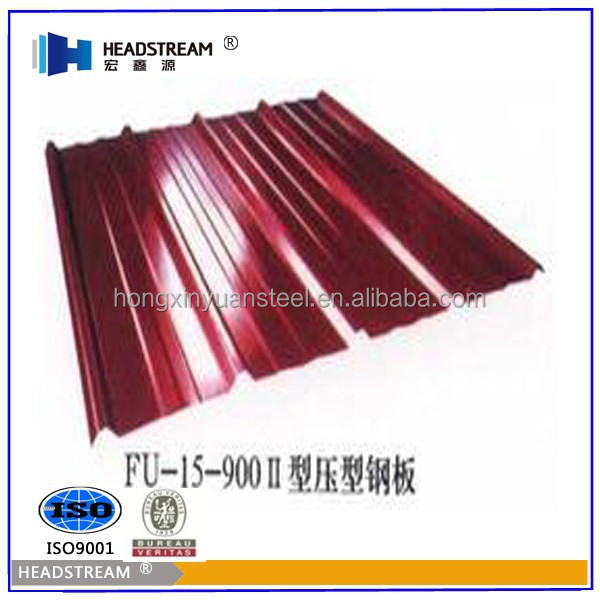 Galvanised Sheet Material and Plain Roof Tiles Type metal tile from China Manufacturer