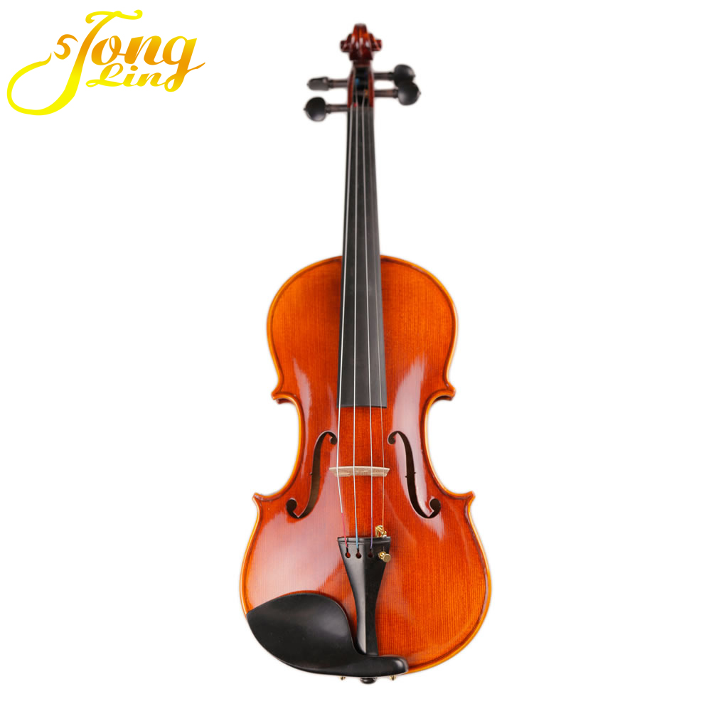 Tongling Musical Instrument OEM Violin And single back with good voice violin