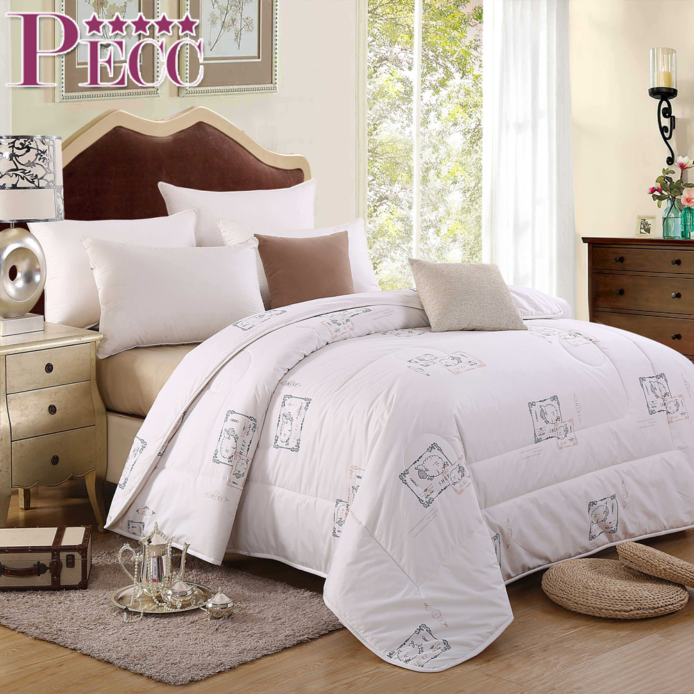 Different Style New Coming Winter Soft Duck Feather Duvet 100% Cotton