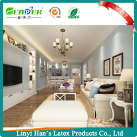 Han' s waterbased environmental-friendly acrylic emulsion wall paint Interior & Exterior Paint