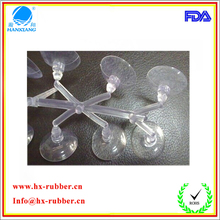 Dongguan factory custom-made rubber sucker for vitrolite/ glass windows