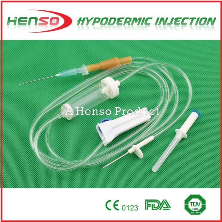 Henso Disposable IV Giving Set with Air Vent