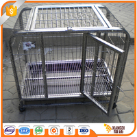 The Fine Durable Design extra small folding dog crate