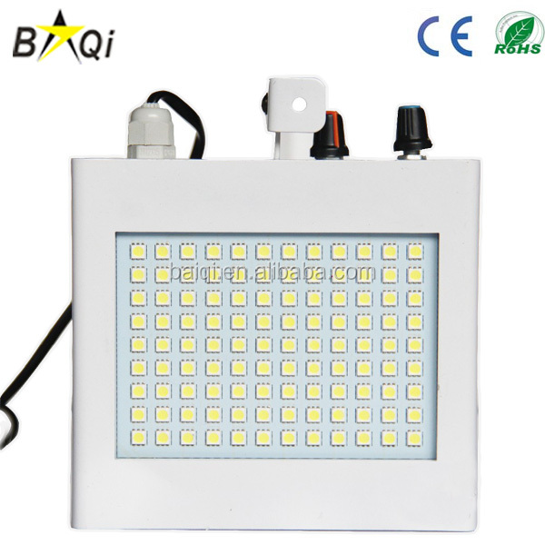 guangzhou 108pcs mini stage strobe light with sound control white disco club decoration