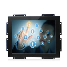 Embedded Open Frame Capacitive Touch Monitor 12 inch LCD Monitor For Industrial ATM Ticket-selling machine