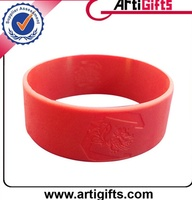 Promotional products bulk cheap silicone wristbands china