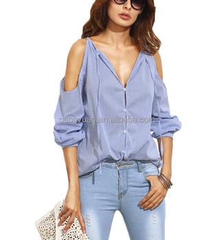 High Quality Cheap blouse ladies