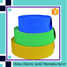 Colored polyester knitting extra wide elastic for waist belt