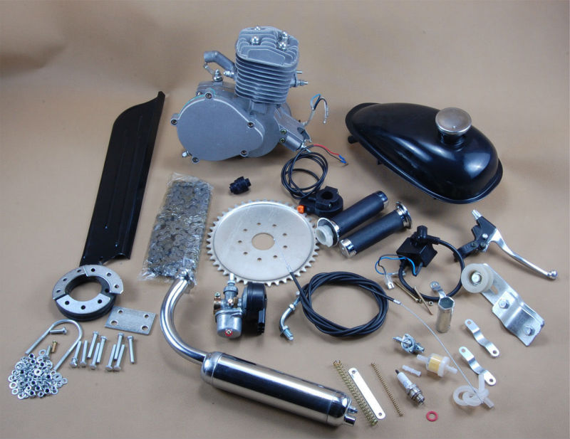 80cc CE Approved motor da bicicleta kits/gas powered bike/ gasoline engine