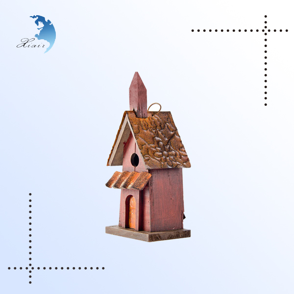 Montessori practice tools wooden toy for kids Bird house