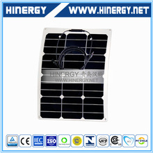 high quality solar panel thin film flexible 40wp 40watt all black flexible solar panel 40w