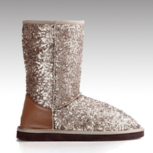 HC-106 Sequins luxury winter boots for women